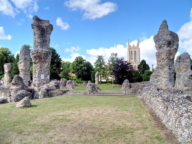 The Remains of St Edmund's Abbey