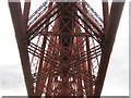 NT1380 : Under the Forth Bridge by M J Richardson