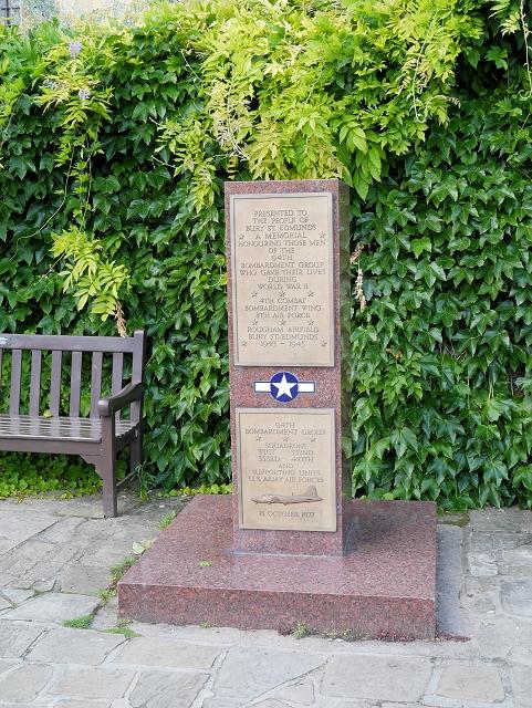 USAAF War Memorial, Abbey Gardens