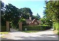 SU5674 : Yattendon Estate Lodge by Des Blenkinsopp