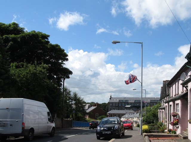 The bridge carrying the High Street (A21) over the Comber By-Pass (A22)