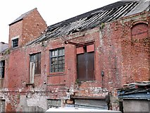 NZ3668 : Derelict warehouse off Brewhouse Bank, North Shields by Andrew Curtis