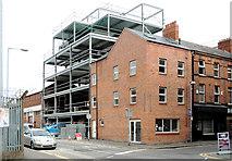 J3374 : Building, Belfast (2013-1) by Albert Bridge