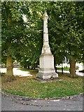 TL8564 : Martyrs' Memorial, Bury St Edmunds Abbey Gardens by David Dixon