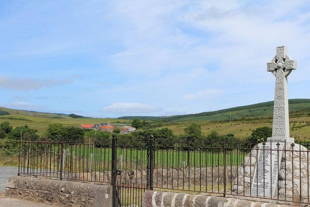 War Memorial, Conie Glen
