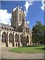 TL8564 : St Edmundsbury Cathedral, South Face by David Dixon