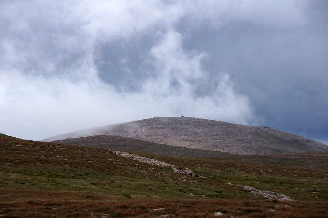 Ben Macdui from near Loch Buidhe