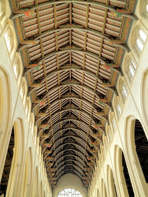 Nave Ceiling, St Edmundsbury Cathedral
