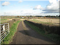 SK2701 : Farm track from Sandyways to Birches Barn by Robin Stott