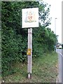 TQ7357 : Maidstone Town Sign by Chris Whippet