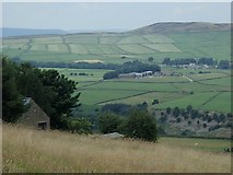 SK2078 : View from Nether Bretton to Abney by Andrew Hill