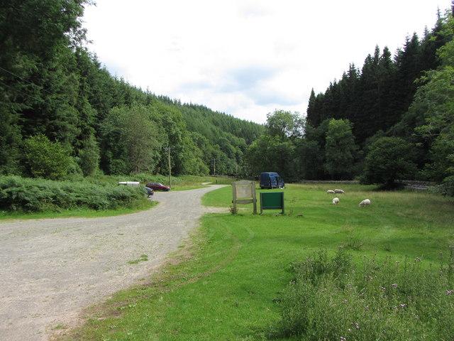 Blaen-y-cwm / Mynydd Du car park