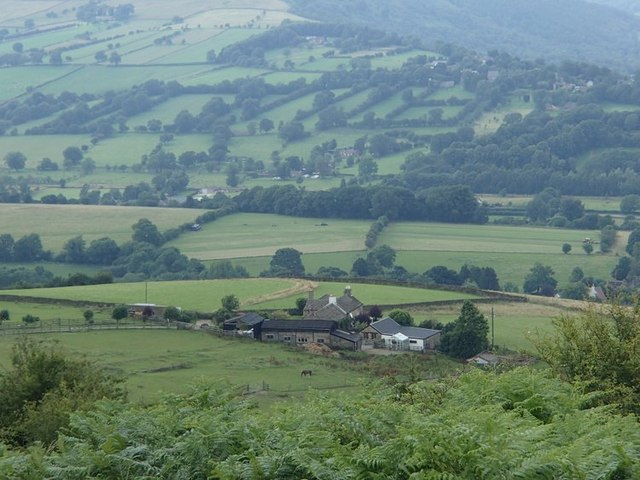Above Old Lees Farm