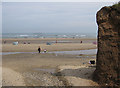 TA1377 : Beach at Hunmanby Gap by Pauline E