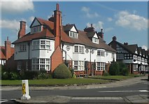 SJ3384 : House on corner of Greendale Road and Park Road Port Sunlight by Richard Hoare