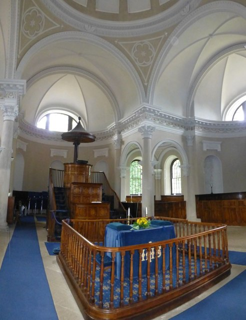 Interior of the Chapel at Gibside