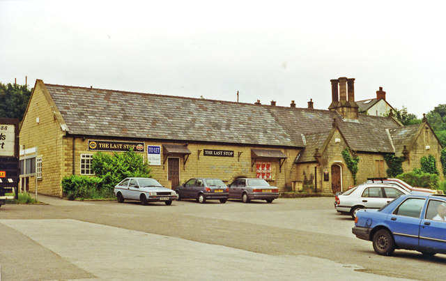 Hadfield Station as 'The Last Stop Inn', 1996