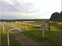 TQ2157 : Walton Road: view across Six Mile Hill by Hugh Craddock