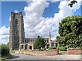 TL9148 : Lavenham, The Church of St Peter and St Paul by David Dixon