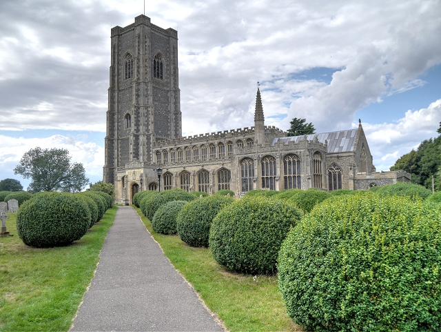 The Church of St Peter and St Paul, Lavenham
