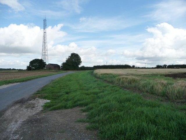 Chapel Lane, looking north