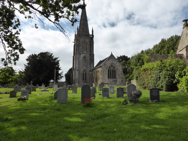 The church of St Andrew, Trent, Dorset