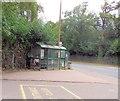 TQ3423 : Bus Stop at entrance to Princess Royal Hospital by Paul Gillett