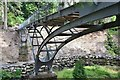 NU0702 : The Iron Bridge, Cragside by Jim Barton