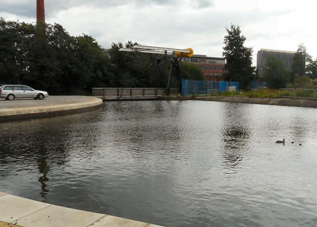 New Islington Lifting Bridge