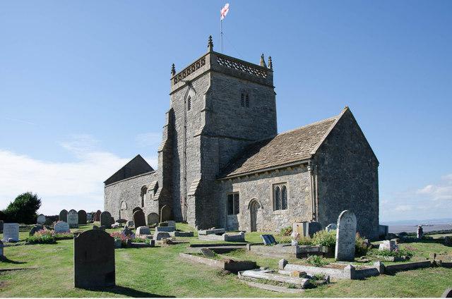 The Old Church of Saint Nicholas - Uphill