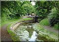 SJ9001 : Empty canal near Oxley, Wolverhampton by Roger  Kidd