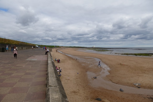 North along the prom