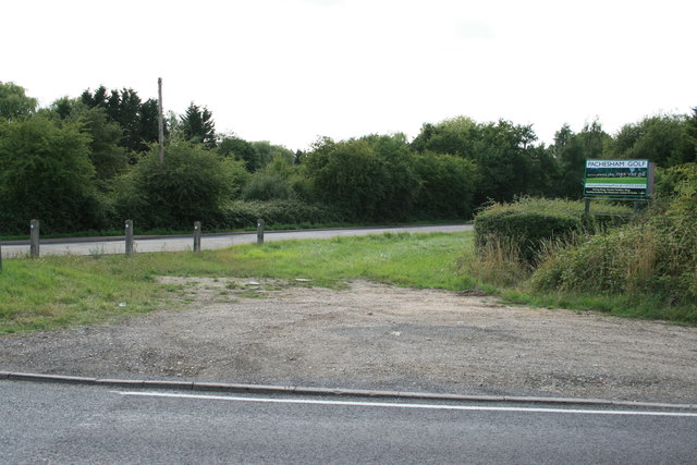 Junction of Randalls Road and Woodlands Road