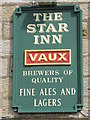 NT9304 : Sign on The Star Inn, Harbottle by Mike Quinn