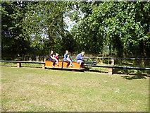 TQ2636 : Miniature railway, Goffs Park by Robin Webster