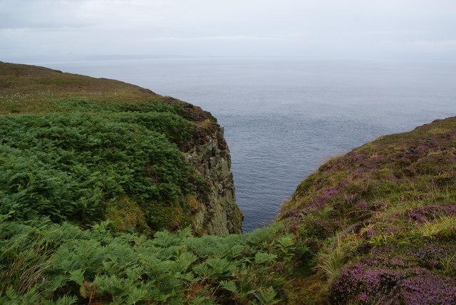 Clifftop above Sow's Geo
