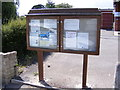 TM2737 : Trimley St.Martin Village Notice Board by Adrian Cable