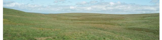 Barren moorland at Taw Head