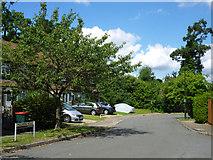 TQ2636 : Malvern Road, Southgate, Crawley by Robin Webster