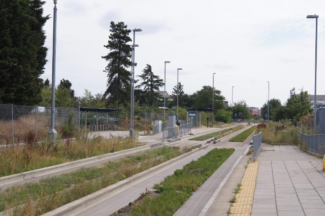 Cambridge Science Park busway stop