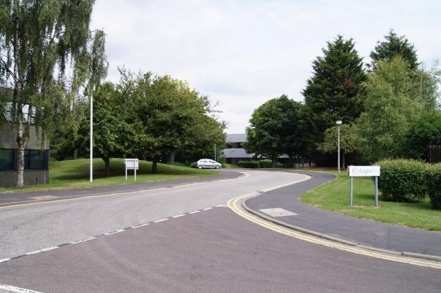 Side roads in the Science Park