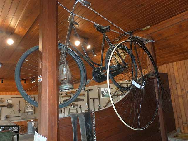 """Bicycles in the Folk Museum at """"the Retreat"""""""