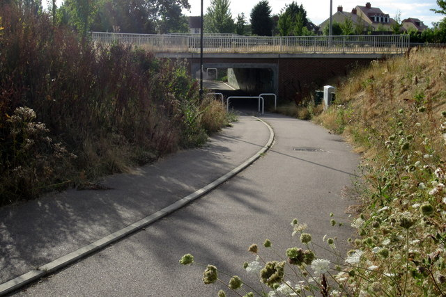 A6 underpass to Wixams