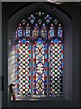 TM2749 : Loder Memorial Window, St Mary's Church by David Dixon