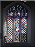 TM2749 : Loder Memorial Window, St Mary's Church by David Dixon