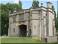 SK8932 : Harlaxton Manor gatehouse by Alan Murray-Rust