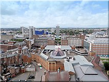 SP3378 : A View of Coventry from St Michael's Tower by David Dixon