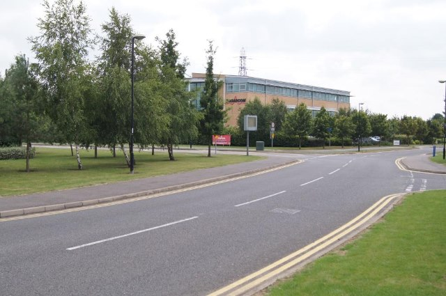 Roads within the Science Park