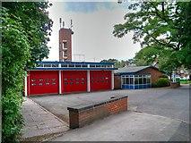 SJ8481 : Wilmslow Community Fire Station, Altrincham Road by David Dixon