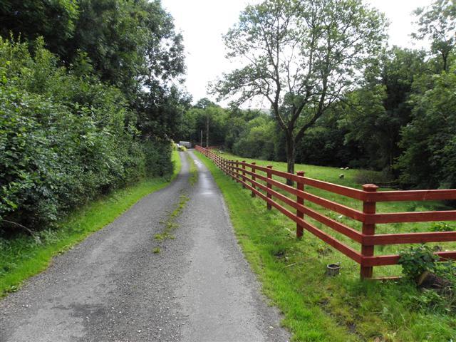 Road at Drumcar